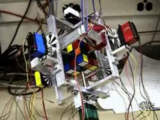Robot Rubik Solver Video